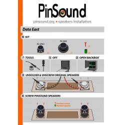 Speakers Kit - DATA EAST