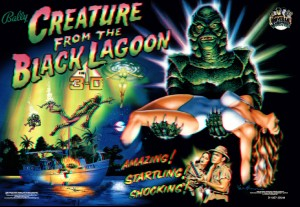 Creature From The Black Lagoon with PinSound upgrades