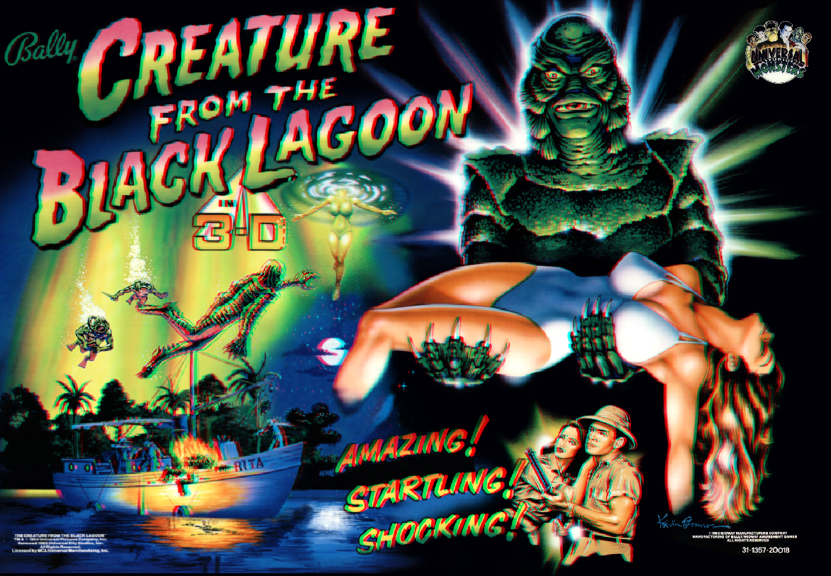 Creature From The Black Lagoon Pinsound