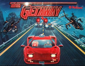 The Getaway: High Speed II with PinSound upgrades