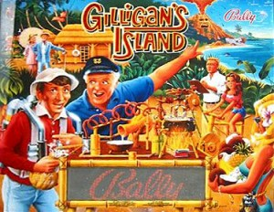 Gilligan's Island with PinSound upgrades