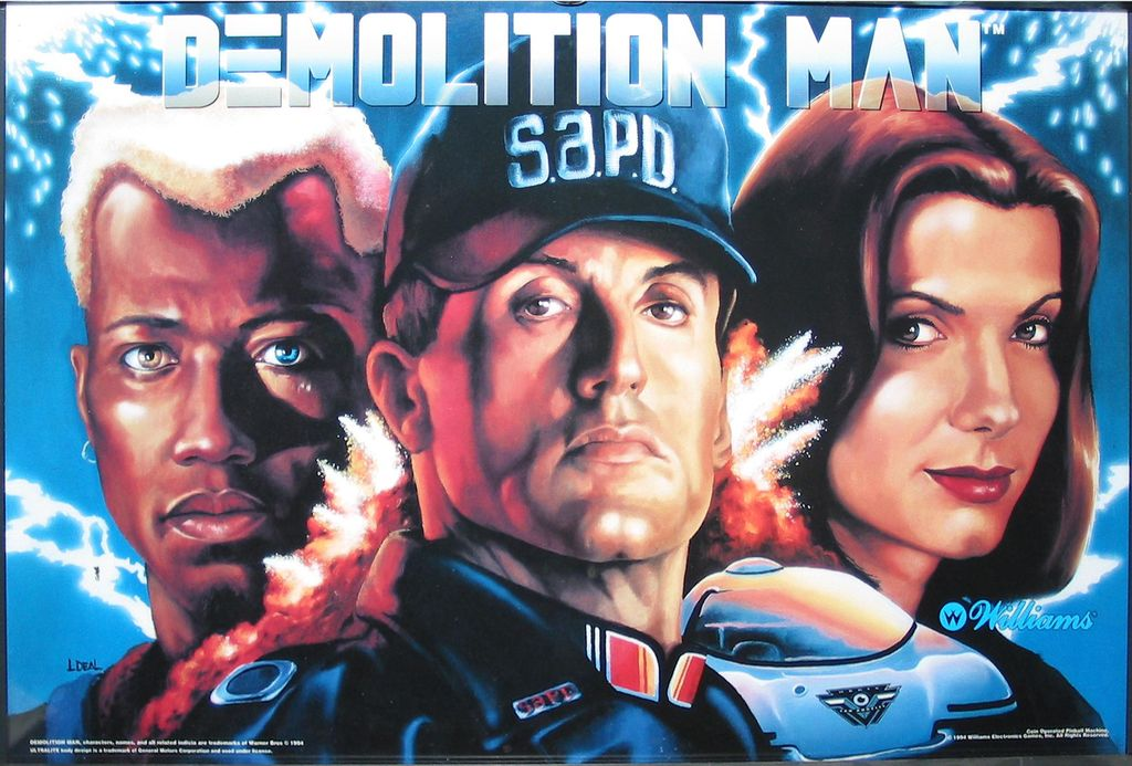 Demolition Man Pinsound