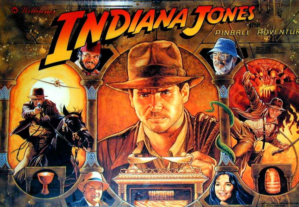 INDIANA JONES the pinball adventure