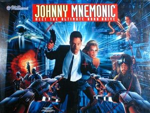 Johnny Mnemonic with PinSound upgrades