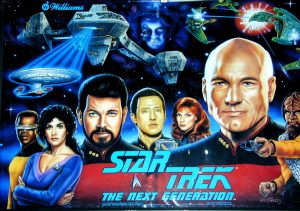 Star Trek: The Next Generation with PinSound upgrades