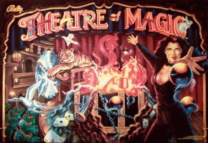 Theatre Of Magic with PinSound upgrades