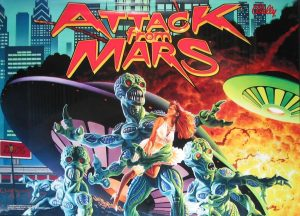 Attack from Mars with PinSound upgrades