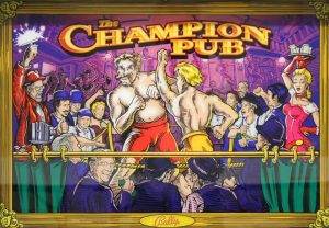The Champion Pub with PinSound upgrades