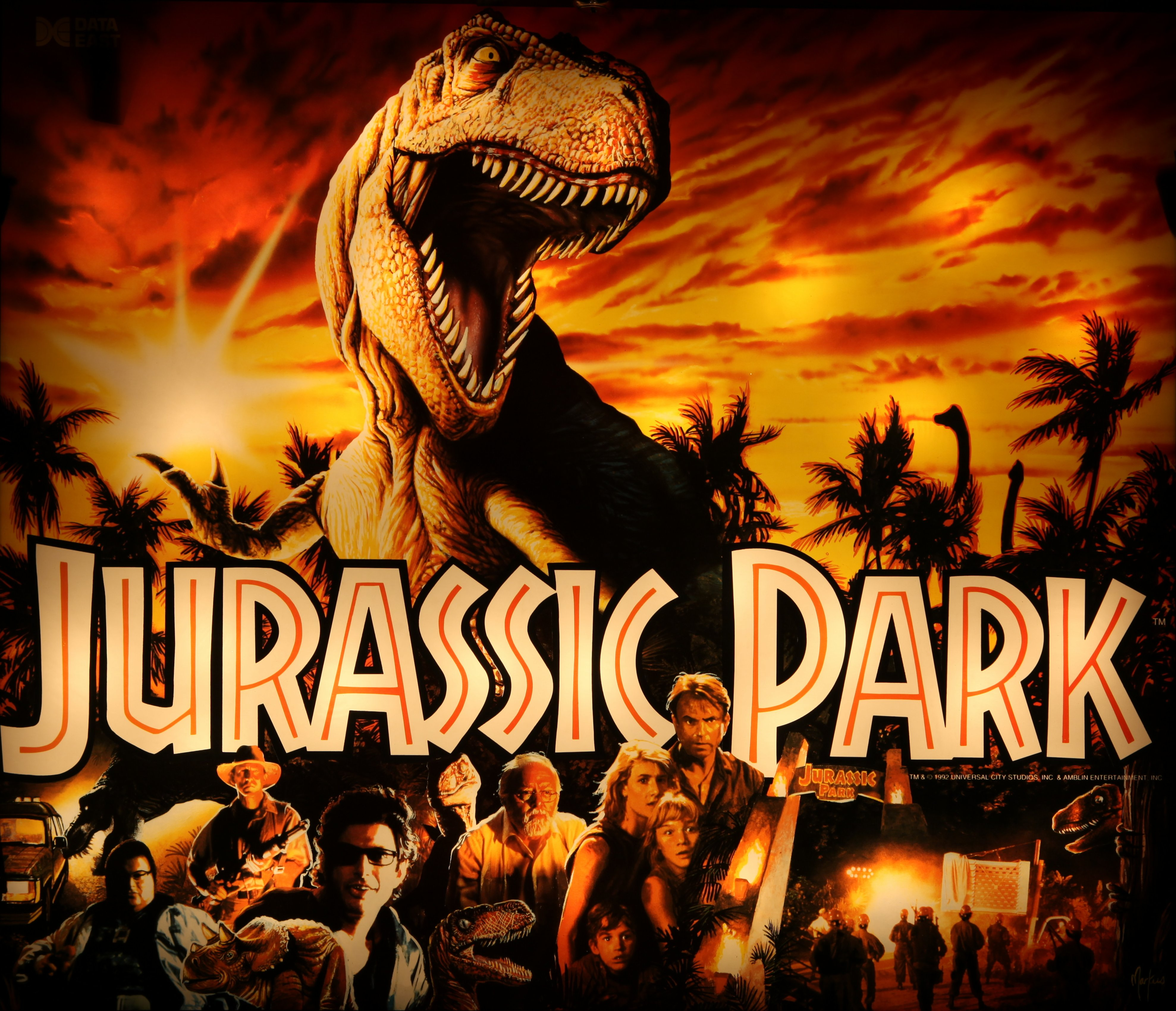 a review of jurassic park