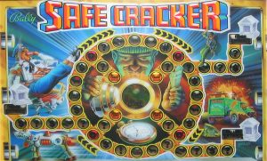 Safe Cracker with PinSound upgrades