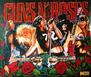 Guns N Roses with PinSound upgrades