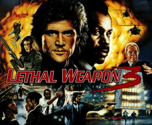 Lethal Weapon 3 with PinSound upgrades