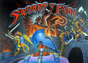 Swords of Fury with PinSound upgrades