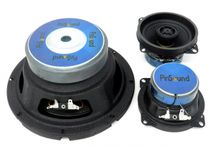 Speakers upgrade kit for PLUS & NEO for Harley-Davidson STERN