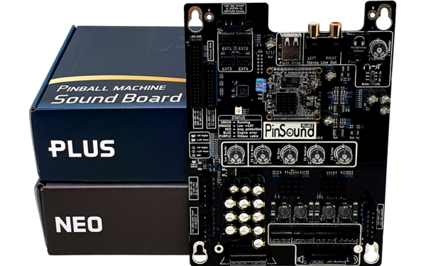 PinSound PLUS & NEO sound boards for Pool Sharks