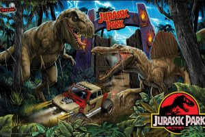 Headphones Station MASTER for Stern SPIKE for Jurassic Park (Stern)