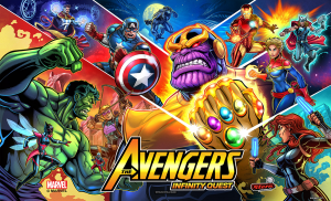 The Avengers Infinity Quest mit PinSound-Erweiterungen