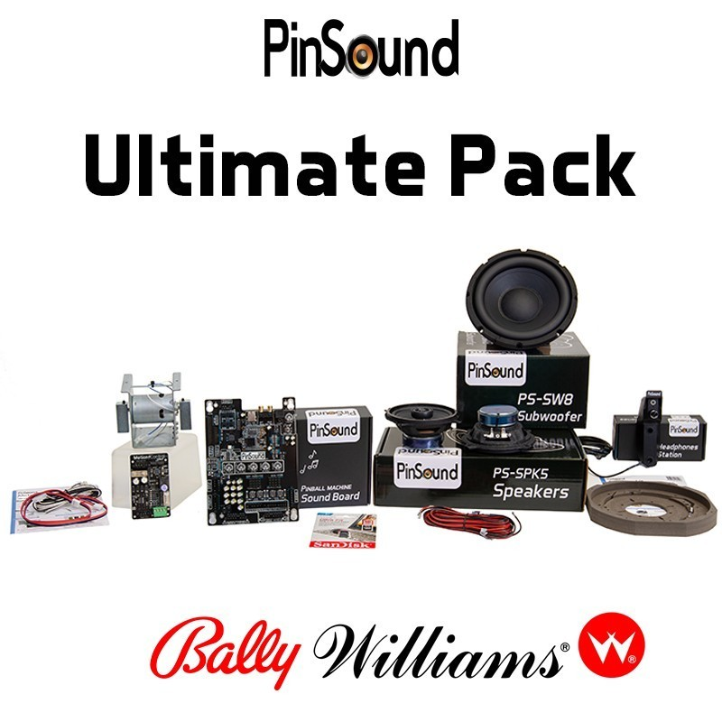 Bally Williams Ultimate PinSound Pack for The Addams Family