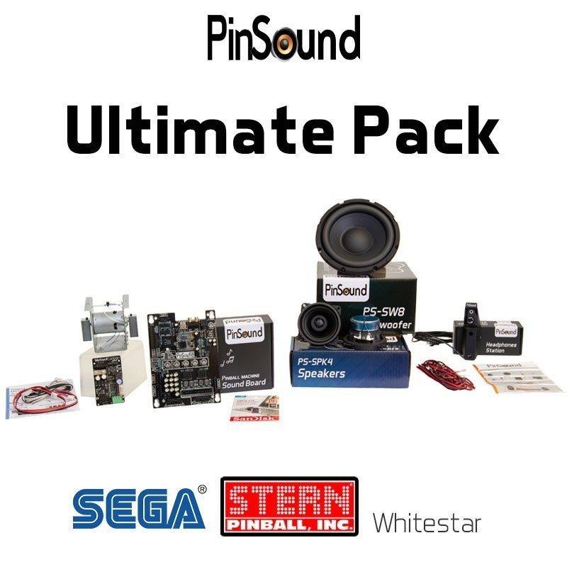 Stern Whitestar Ultimate PinSound Pack for NFL