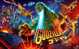 Godzilla (Stern) mit PinSound-Erweiterungen